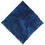Blue Strata II 36x36