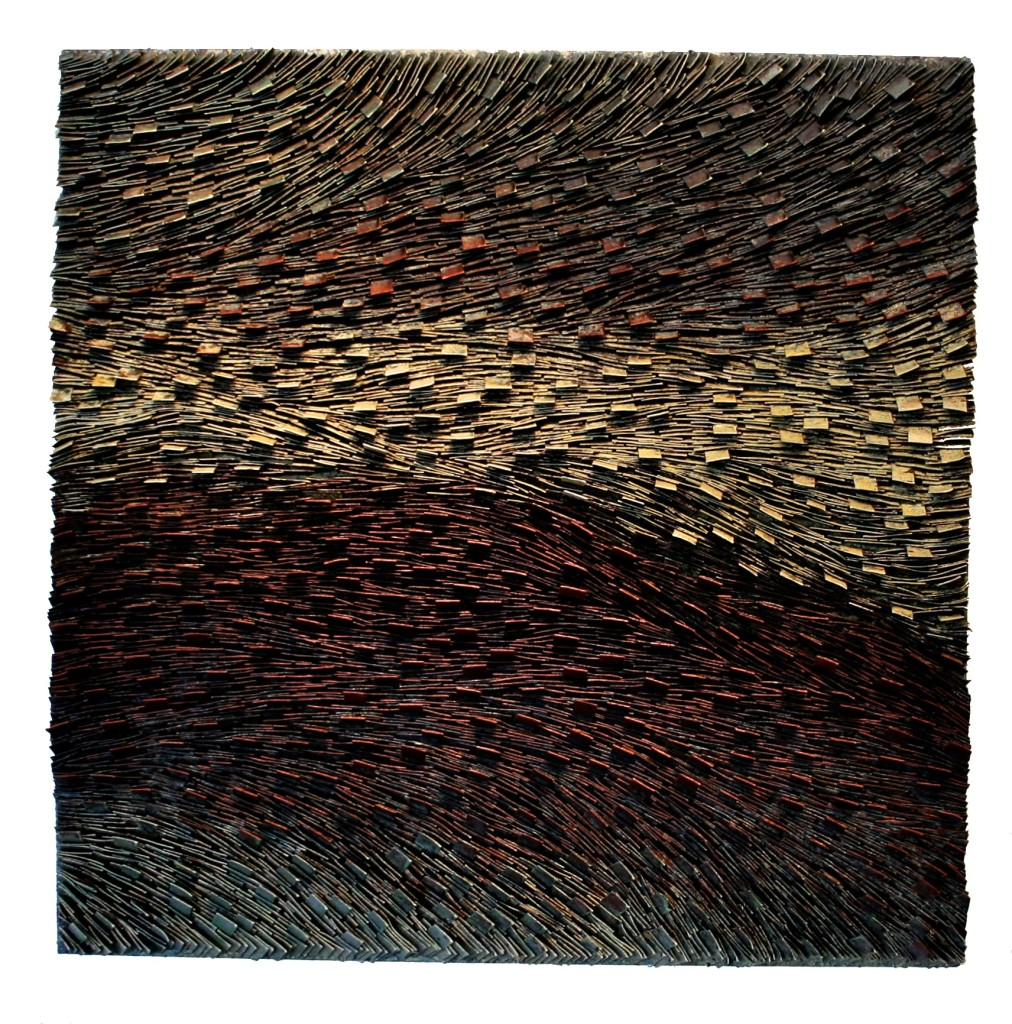 Copper Transition I 36x36