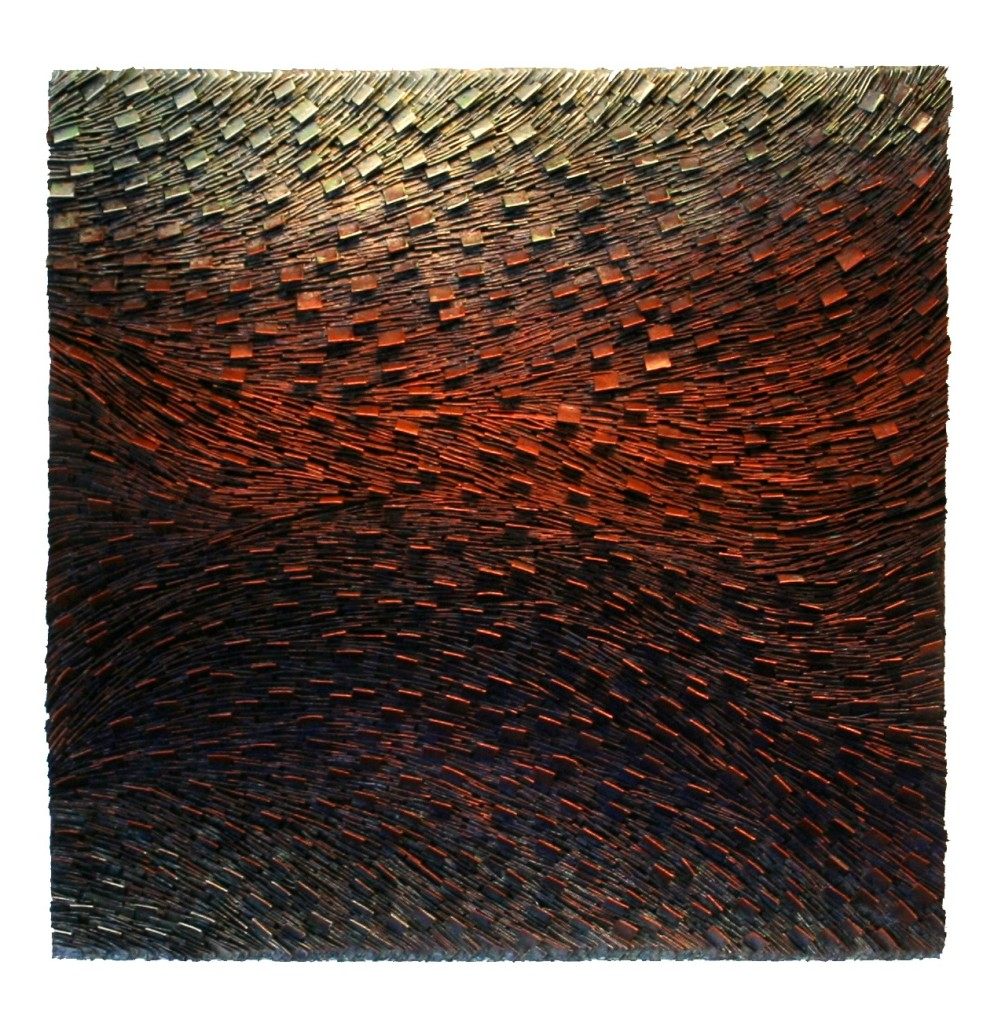 Copper Transition II 36x36
