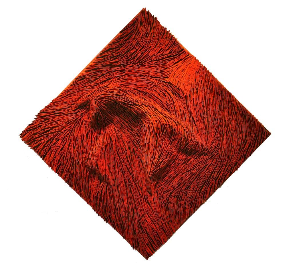 Orange Diamond 42x42