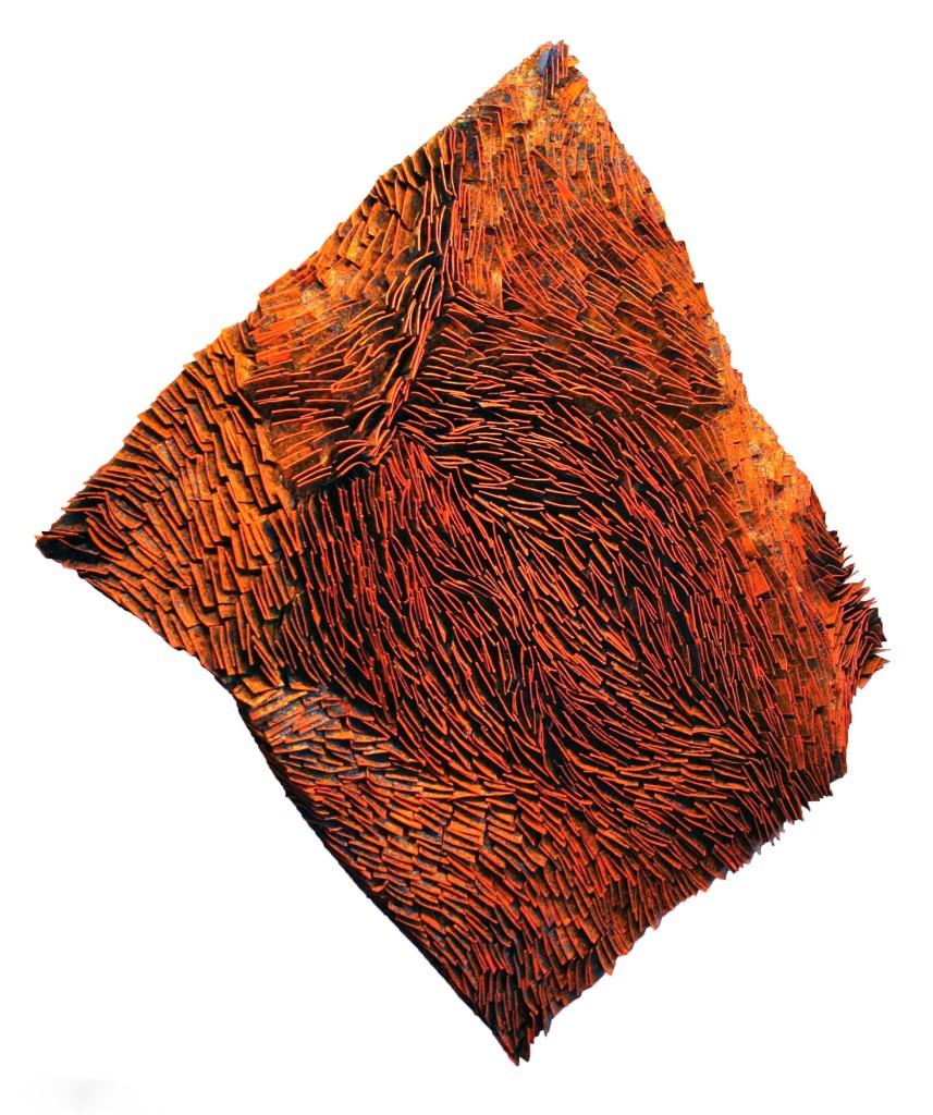 Orange Strata 54x52