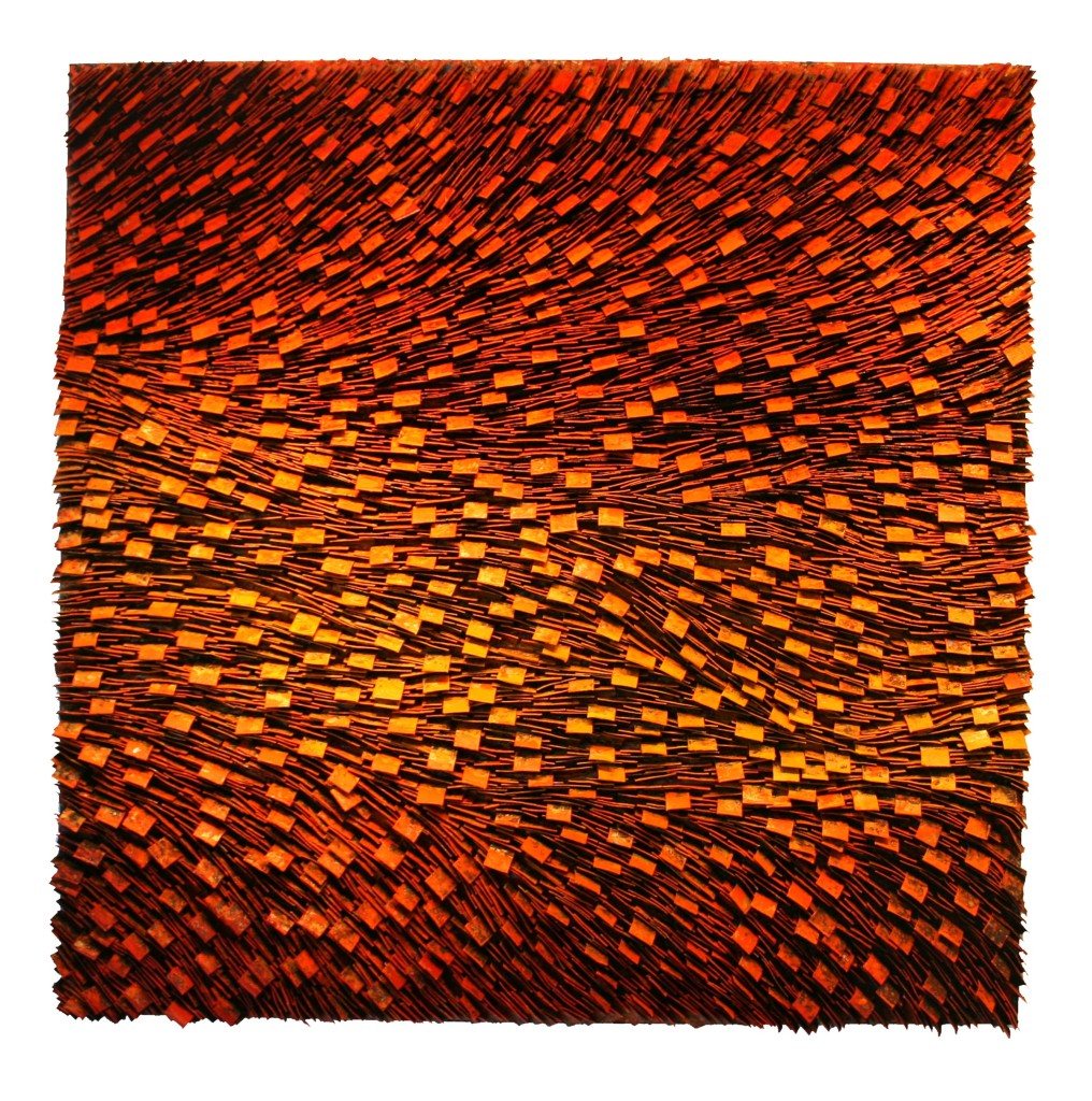 Orange Transition I 36x36