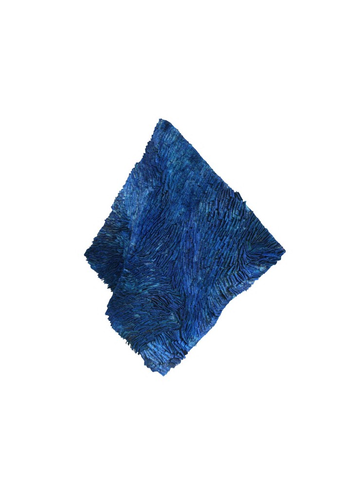 Blue Wave   35 x 35 x 5